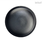 Shank Leather Button: BMJ18 Black