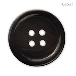 Trochus Button: Brown